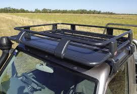 jeep safari rack arb deluxe steel roof rack 1100x1250mm devon 4x4 3800030 abl