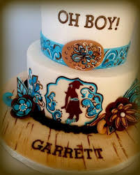 western baby shower western themed baby shower cake cake by cakesdecor