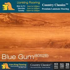 German Laminate Flooring Blue Gum 8052b Country Classics 12mm Semigloss Laminate Floor