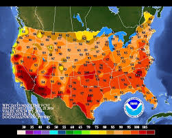 us weather map monday why the heat dome will scorch nearly the entire us this weekend