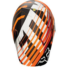 fox motocross gear nz fox racing v3 savant orange ktm motocross helmet mips safety