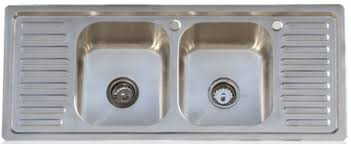 stainless sink with drainboard drainboard kitchen sinks in stainless steel three designs from an