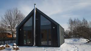 Modern Tiny Houses by Dom Xs A Modern Small House From Poland For 43 000