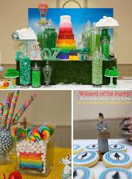 themed parties idea kara s party ideas wizard of oz rainbow wedding party decorations