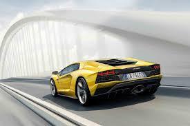 Lamborghini Aventador Horsepower - 730 hp 2017 lamborghini aventador s revealed