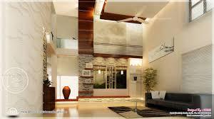 ultra modern double height living interior design ideas living