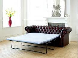 leather sofa with bed pull out chesterfield pull out sofa hereo