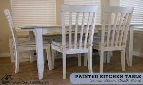 Painted Kitchen Tables Square Kitchen Tables Annie Sloan Chalk Paint Kitchen Tables