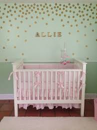 Pink And Green Nursery Decor Baby Nursery Room Palmyralibrary Org