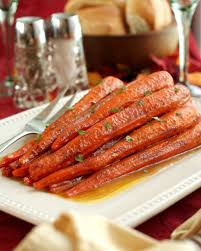 cinnamon butter baked carrots easy thanksgiving side dishes