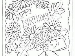 children free printable coloring birthday cards fresh in set