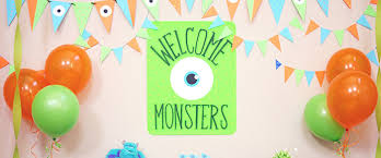 Kara s Party Ideas Monsters Inc Themed Birthday Party Ideas