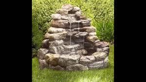 the unique outdoor garden fountains youtube