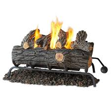 amazoncom fireplace logs png real flame converttogel log set in