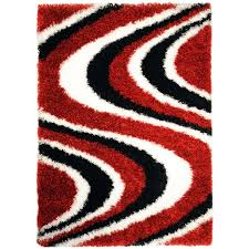 Red Black White Area Rugs Lovable Red And White Area Rug Contemporary Black And White Area