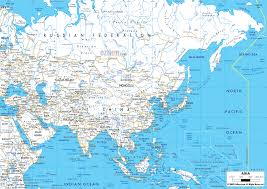 Countries Map Detailed Clear Large Road Map Of Asia Ezilon Maps