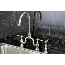 Widespread Kitchen Faucet With Spray Widespread Kitchen Faucets Shop The Best Deals For Nov 2017