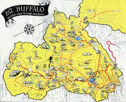 Buffalo Map Mount Buffalo Map A Map Of Many Of The Named Natural Forma U2026 Flickr