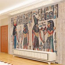 ancient egyptian home decor beibehang wallpapers home decor photo background wallpaper ancient