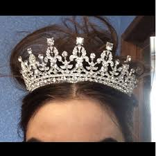 bridal crowns aliexpress buy white bridal crowns headbands prom bridal