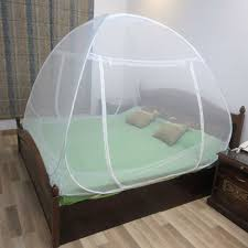 Second Hand Bed Cots In Bangalore Healthgenie Mosquito Net Double Bed Foldable With Patch White