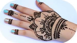 henna tutorial auf die ganze hand sanny kaur youtube