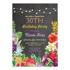 luau party invitations u0026 announcements zazzle