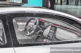 renault dezir interior renault showcases the r s 01 and eolab at auto expo