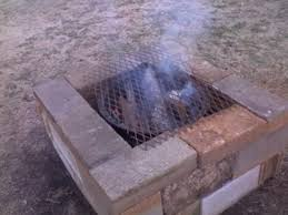Fire Pit Grille by Homemade Firepit U0026 Grill