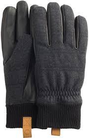 ugg gloves sale office ugg s knit gloves w smart leather palm black sm md at amazon