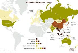 Map Of Southeast America by Asean The Association Of Southeast Asian Nations Council On