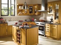 cuisine bois rustique modele de cuisine rustique amenagee 1268749457 choosewell co