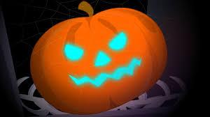 scary pumpkin finger family song halloween nursery songs for
