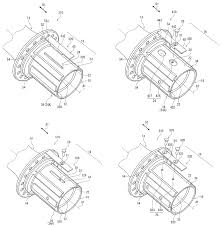 shimano patent shows silent ring drive hub internals that could be