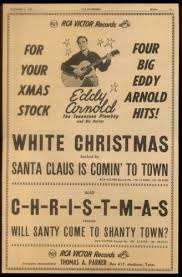 1950 eddy arnold photo white christmas c h r i s t m a s trade