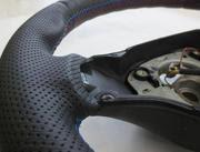 rivestimento volante in pelle zomar produzione tappeti e fodere auto