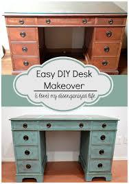 Easy Diy Desk Easy Diy Desk Makeover