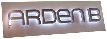 wholesale reverse channel letters signs halo backlit channel