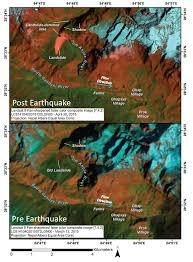Icy Avalanche Gorkha Earthquake Induced Ice Avalanche Susceptibility Map Nasa