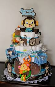 scraps of life baby shower diaper cake
