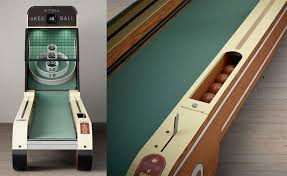 skee ball table plans vintage arcade skee ball machine quarters not required home decor