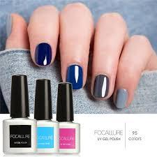 pedicure colors to the stars focallure nail gel polish soak off uv colorful nail colors art gel