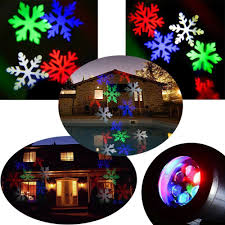Led Snowflake Lights Outdoor by Christmas Outdoor Projector Lights Sacharoff Decoration