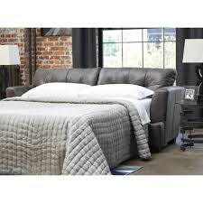 ashley furniture inmon queen sofa sleeper in charcoal local