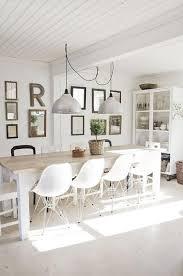 table cuisine blanche la cuisine blanche et bois en 102 photos inspirantes archzine fr
