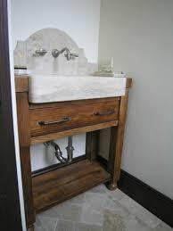 limestone bathroom farm sink much ado about kitchens