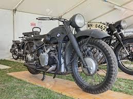 bmw motorcycle vintage old military motorcycle bmw r12 1939 of the german army used