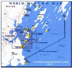 Map Portland Maine by Going Ashore Naval Operations In Casco Bay During World War Ii