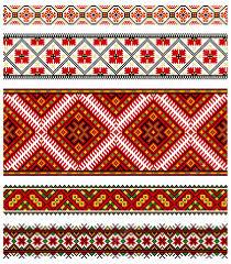 ukrainian embroidery ornaments stock vector day908 4807636