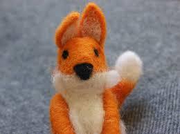 fox felt decoration fair trade home of la juniper gift